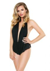 Cassandra Romper With Black M/L