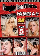 Naughty Teen Whores - 5-Pack