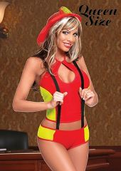 Fire Chief Babe - Red / Yellow