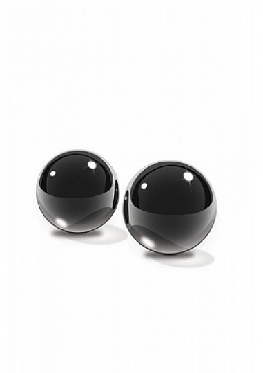 Glass Ben-Wa Balls - Black