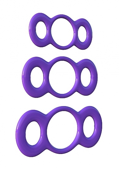 3-Ring Quick Release Trainer - Purple