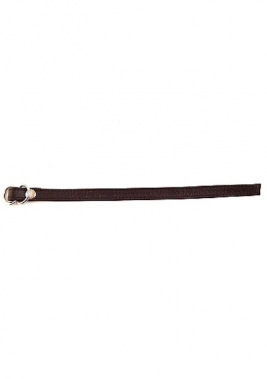 Double D Ring Cock Strap - Black