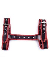 Halter Harness - Medium - Black And Red