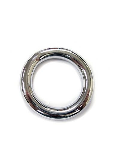 Inox Round Cock Ring - 40mm