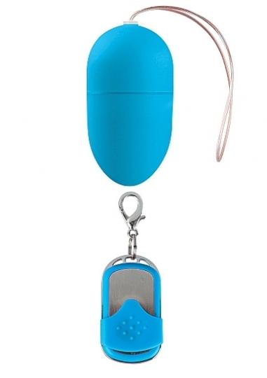 10 Speed Remote Vibrating Egg - Medium - Blue