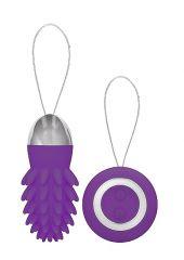 Mason - Rechargeable Remote Control Vibrating Egg - Purple