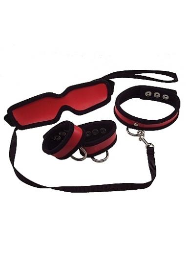 5 Piece Red Restraint Kit